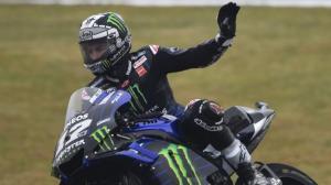 Maverick Vinales hari ini pastikan tetap di Yamaha hingga akhir musim 2022. (Foto: foxsport)